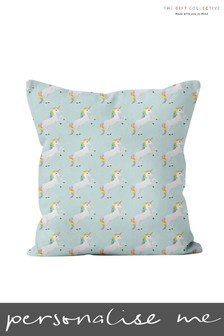 Personalised Unicorn Cushion By Gift Collective
