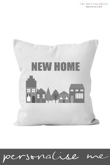 Personalised New Home Cushion By Gift Collective