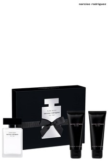 Narciso Rodriguez Pure Musc EDP 50ml and Body Lotion 75ml and Shower Gel 75ml Gift Set