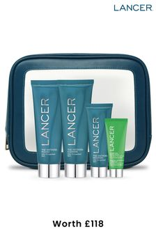Lancer Method Intro Kit for Oily-Congested Skin (worth £118)