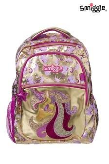 Smiggle Gold Backpack