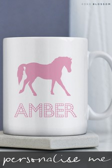 Personalised Horse Mug By The Gift Collective