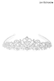 Jon Richards Silver Bridal Diamante Tiara
