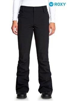 Roxy Creek Black Ski Trousers