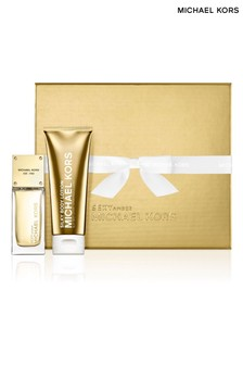 Michael Kors Sexy Amber 50ml EDP and Body Lotion Gift Set