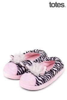 Totes Pink Kids Novelty Slipper