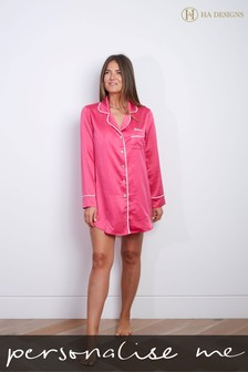 Personalised Night Shirt By HA Designs