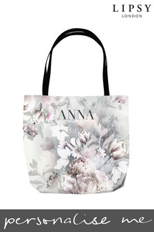 Personalised Lipsy Ava Tote Bag By Instajunction