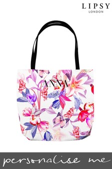 Personalised Lipsy Lzzy Tote Bag By Instajunction