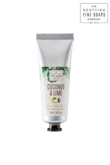 Scottish Fine Soaps Coconut & Lime Hand & Nail Cream 75ml