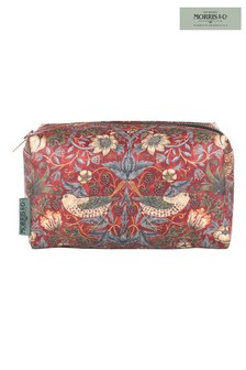 Morris & Co Strawberry Thief Cosmetic Bag