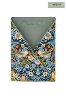 Morris & Co Strawberry Thief Passport Holder