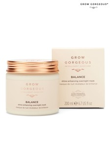 Grow Gorgeous Balance Shine Enhancing Overnight Mask 200ml