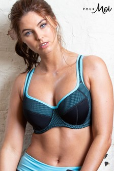 Pour Moi Energy Underwired Lightly Padded Sports Bra GG+