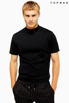 Topman Ribbed Turtle T-Shirt
