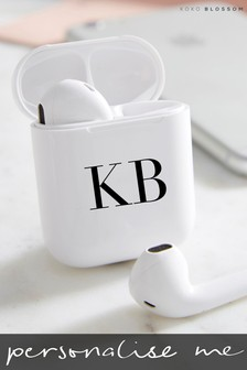Personalised Wireless Earbuds By Koko Blossom