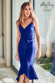 Abbey Clancy x Lipsy Twist Cami Midi Dress