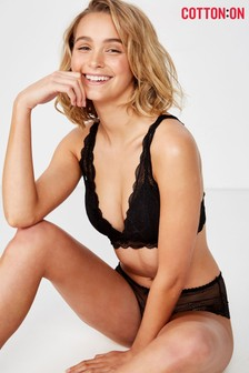 Cotton On Lace Wirefree Bra