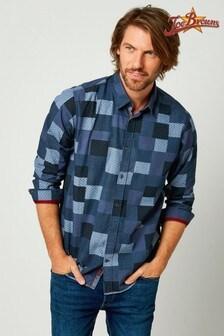 Joe Browns Blue Perfect Patch Shirt