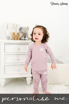 Personalised Dusky Pink Two Piece Loungesuit By Forever Sewing