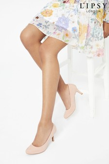 Lipsy Nude Low Heel Courts