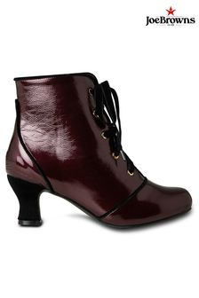 Joe Browns Joyful Patent Ankle Boots