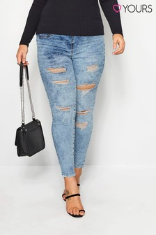 Yours Super Distresses Jeans