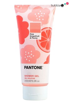 Bubble T Pink Grapefruit & Peony Shower Gel Pantone Edition 200ml