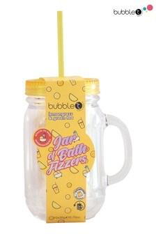 Bubble T Jar of Bath Fizzers Lemongrass & Green Tea 11 x 20g