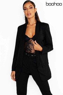 Boohoo Black Tailored Blazer