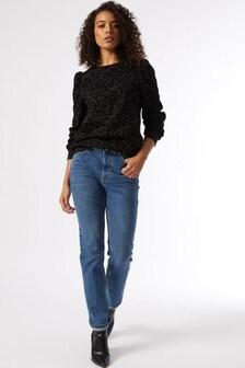 Dorothy Perkins Black Sweatshirt