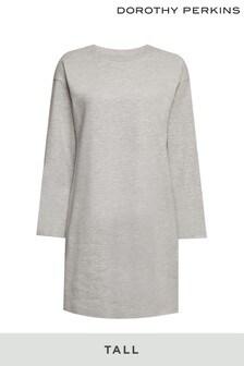 Dorothy Perkins Grey Tall Marl Loungewear Dress