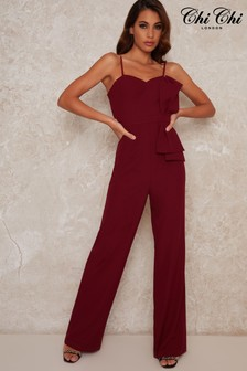 Chi Chi London Katiana Wide Leg Jumpsuit