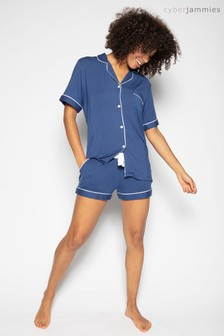 Cyberjammies Indigo Revere Top And Shorts