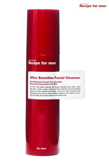 Recipe for Men Ultra Sensitive Facial Cleanser 100 ml