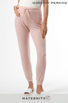 Dorothy Perkins Pink Maternity Jersey Soft Touch Over Bump Jogger
