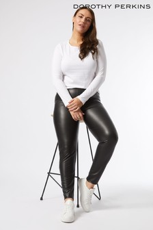 Dorothy Perkins Curve Faux Leather Legging