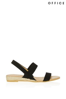 Office Slingback Espadrille Sandals