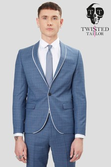 Twisted Tailor Sotherby Check Suit Jacket
