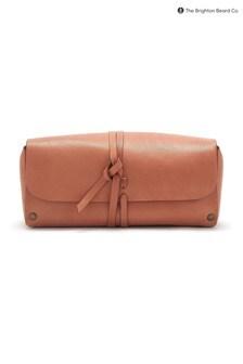 The Brighton Beard Co. Ruxley Leather Wash Bag