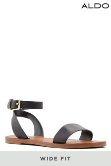 Aldo Wide Fit Flat Ankle Strap Sandal