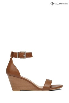 Call It Spring Wedged Sandal