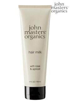 John Masters Organics Hair Milk with Rose & Apricot 118ml