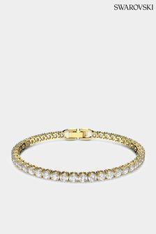 Swarovski Gold Tennis Deluxe Bracelet