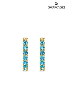 Swarovski Vittore Gold Tone Earrings