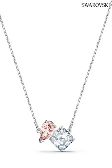 Swarovski Silver Attract Soul Necklace Pink