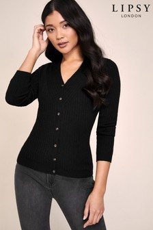 Lipsy Knitted Button Up Cardigan