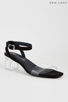 New Look Perspex Heel Sandal - Part of 2