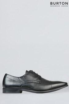 Burton Leather Brogue Detail Banks Shoes