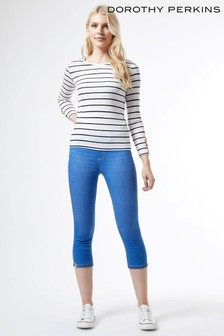 Dorothy Perkins Blue Regular Length Eden Jean